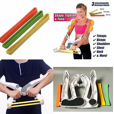 Exercise Bands Power Resistance Fit For Upper Body Wonder Arm Workout Machines