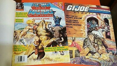 G.I.Joe Magazine Fall 1988 + He-Man and the Masters of the Universe 1988
