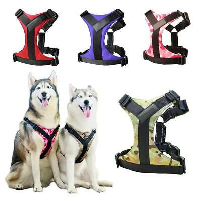Adjustable Small Large Hand Strap Dog Soft Harness Pet Walk Out Vest Collar: