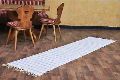 Rag Rug Hall 90cm x 150cm Machine Washable Cotton Rug BNWT