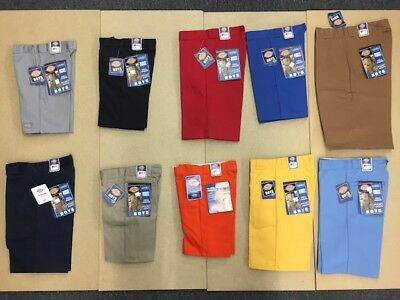 Dickies Boys Durable Shorts | Rigid Twill | School Uniform or Fashion | NEW