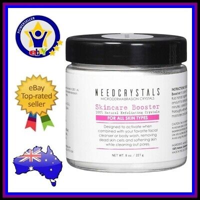 Needcrystals Microdermabrasion Crystals | Anti Aging Exfoliator Dead Skin 227G