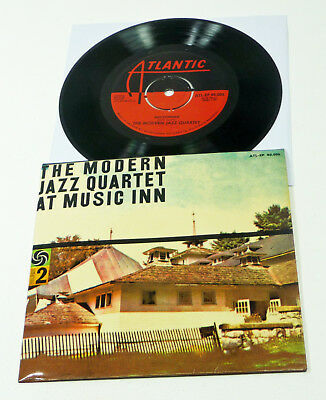 "The Modern Jazz Quartet At Music Inn - Swe ATLANTIC 7"" PS 45 COOL JAZZ EP"