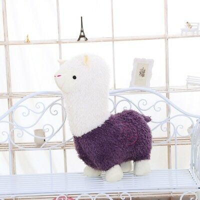 Soft Plush Alpaca Stuffed Animal Toy Christmas Bag Filler Home Decor 20-40cm