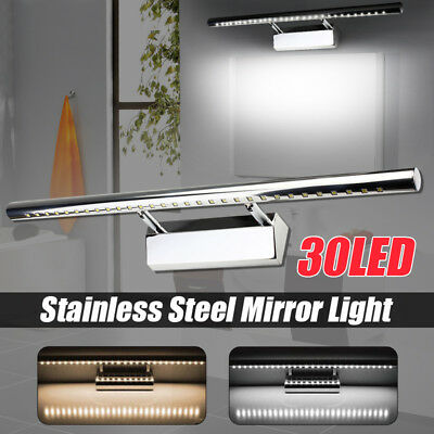 Modern 30LED Mirror Wall Light Bathroom Bedroom Hallway Vanity Front MakeUp Lamp