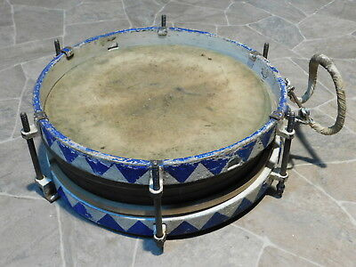 Project Antique March Drum Marching Snare Drum Brass Drum GERMANY UM 1930