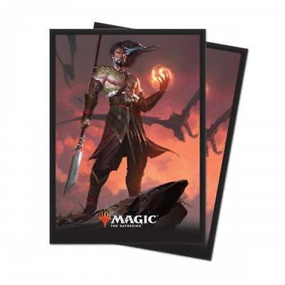 ACCESSORY * MTG Core Set 2019 - Sarkhan Fireblood Sleeves (80)