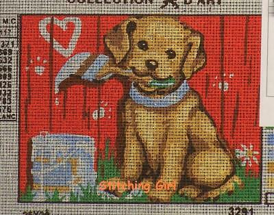 Puppy Love Tapestry To Stitch