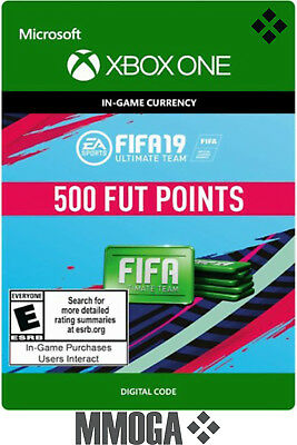FIFA 19 FUT Points 500 - Xbox One Version - Ultimate Team - 500 FUT Points Code