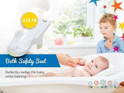 Baby Newborn Toddler Bath Tub Safety Seat Support Chair Safety 1st Anatomic New