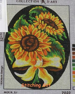 Sunflower Bouquet Tapestry To Stitch