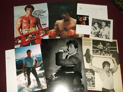 Sylvester Stallone - Clippings