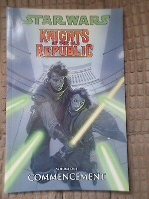 Star Wars: Knights of the Old Republic: Commencement v. 1 Graphic Novel