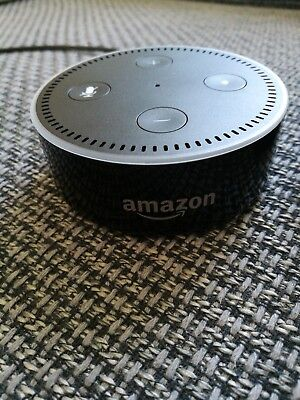 Amazon Echo Dot (2. Generation) Sprachgesteuerter Smart Assistant - Schwarz