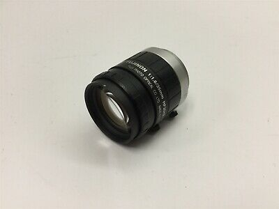 "Fujinon HF35HA-1B Camera Lens, 1:1.6, 35mm, C-Mount, 1.5 Megapixel, 2/3"" CCD"