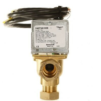Honeywell 22mm Motorised 3 Port Mid-Position Valve