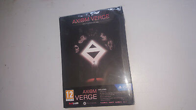 * PLAYSTATION 4 * NEW SEALED Game * AXIOM VERGE MULTIVERSE EDITION * PS4 BOX DAM