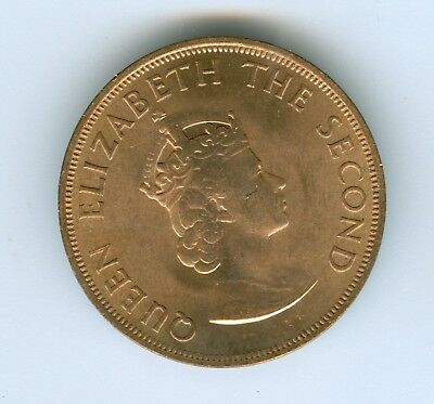 Jersey 1/12 Shilling Nd-1960-Uncirculated