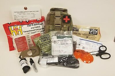 Multicam -Individual First Aid Kit (Ifak) - Cat Tq - Quick Clot - Active Shooter