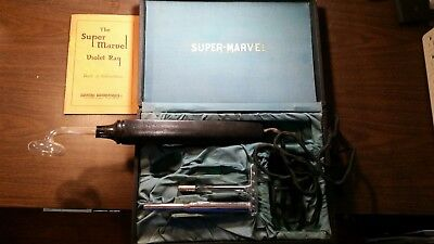 Used Vintage Marvel Violet Ray Quackery Device Aug. 26, 1924 Great Condition.