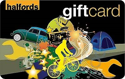 Halfords Gift Card £50