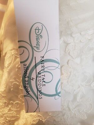 Alfred Angelo Disney Princess Belle Wedding Dress Size 12 35000
