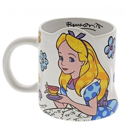 Disney Britto - Alice In Wonderland Mug - New - Boxed - 6002653