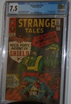 Strange Tales #135, CGC 7.5, 1st Appearance of Nick Fury As A SHIELD Agent