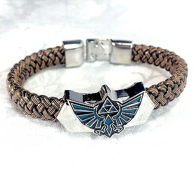 Legend of Zelda Triforce Metal Bracelet Classic Video Game Jewelry Accessories