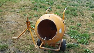 barrow cement mixer  and stand