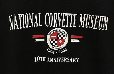 NEW WITH TAG -NATIONAL CORVETTE MUSEUM NCM 10th anniversary T-SHIRT Size XXL 2XL