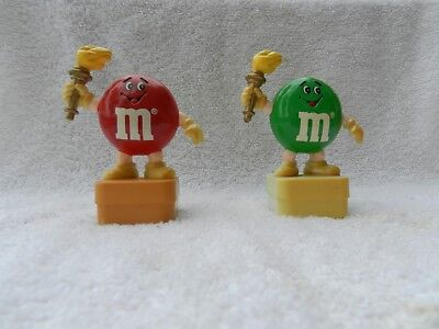 M&M Toppers LOT OF 3 Torch Runner and Doctor