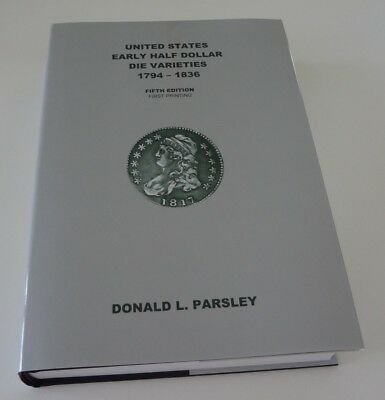 United States Early Half Dollar Die Varieties, Fifth Edition
