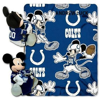 Mickey Mouse 36x30 monogramed personalized fleece blanket