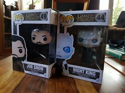 funko pop , Game of thrones - Jon Snow und Night King