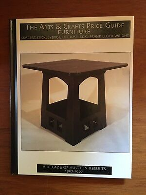 Arts & Crafts Price Guide - Furniture: Limbert, Stickley Brothers, Lifetime, etc
