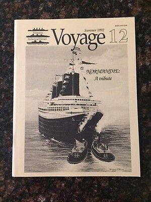 Ss Central America  Article In Summer 1992 Voyage 12 Magazine-New