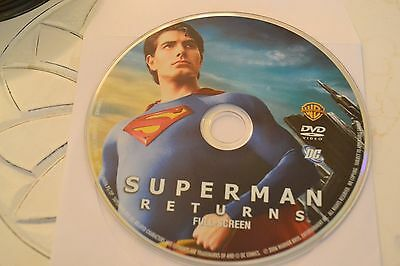 Superman Returns (DVD, 2006, Full Frame Edition)Disc Only Free Shipping 17-292