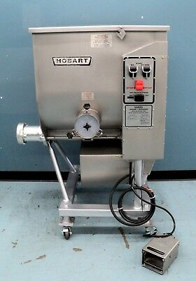 Hobart Mixer Grinder 4346 Meat Grinder 7.5 H.P Butcher Grinder w/ Foot Switch