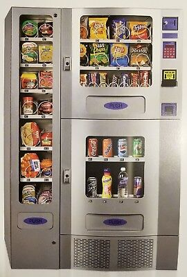 Office Deli Combo Vending Machines, Lot of 4 + parts