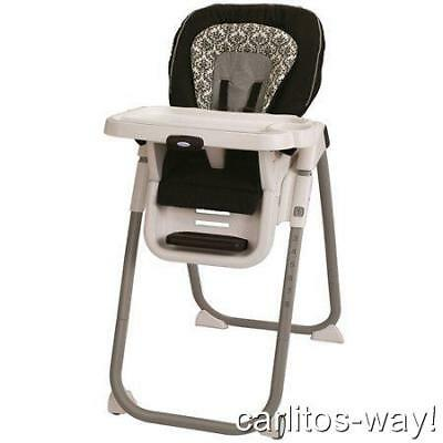 Graco TABLEFIT HIGH CHAIR RITTENHOUSE COLLECTION Booster Folding Tray Wipeable