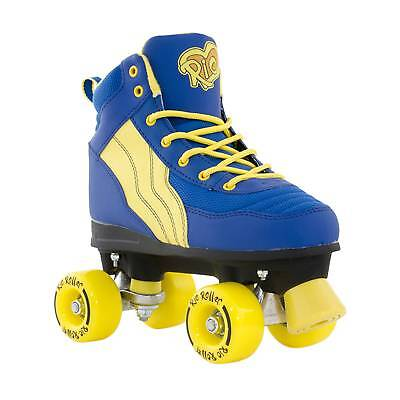 Rio Roller Pure Quad Roller Skates - Blue/Yellow Was £45
