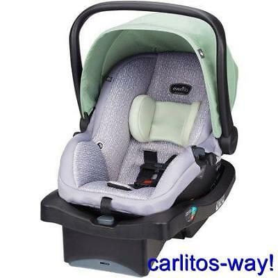 Evenflo Litemax 35 Rear Facing Car Seat  New Bamboo Leaf
