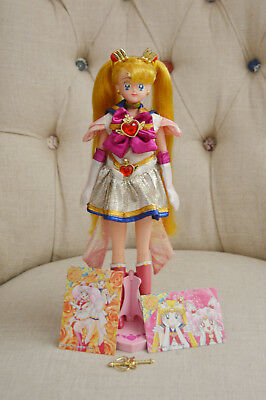 Super Sailor Moon SuperS SS Chara Talk Talking Doll Kaleido Moon Scope Figure
