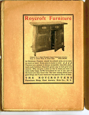 1905 Roycroft Little Journeys Magazine Tyndall Scientist and Ad for Cellaret