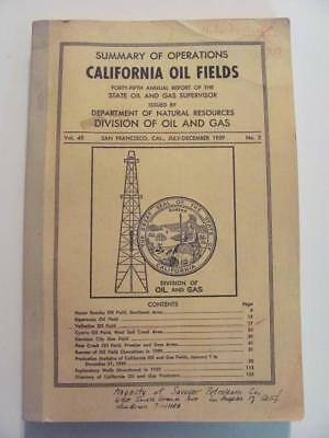 CALIFORNIA OIL FIELDS & 7 MAPS Vintage Fuel & Oil Gas Station Co's 1950's Wells