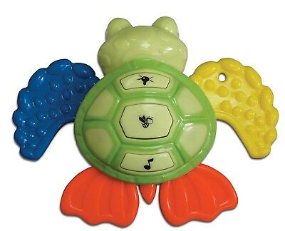 Sea Turtle Baby Buzz'r Musical Vibrating Baby Soother Teether Ages 3mo+