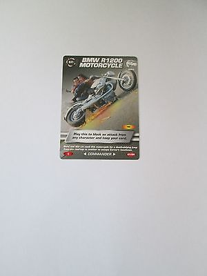 James Bond 007 Spy Common card 031 BMW R1200 Motorcycle (Test series)