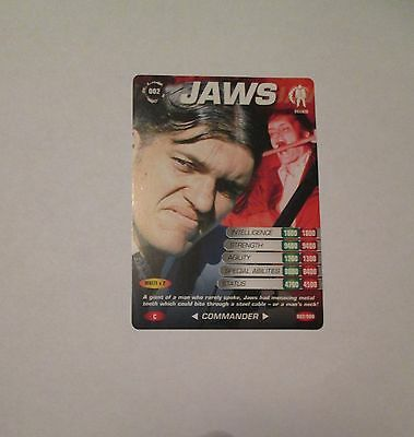 James Bond 007 Spy Common card 002 Jaws (Test series)