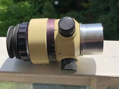 """Eyepiece from observatory telescope (with 2""""  barrel) - German construction"""